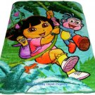 Dora Disney twin - full size MINK  blanket NEW!