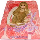 Hannah Montana Disney twin - full size MINK  blanket NEW!