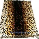 QUEEN KOREAN style MINK Leopard Skin blanket NEW!