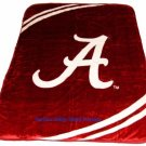 New Football University of Alabama Crimson Tide Plush Mink Blanket Twin - Full