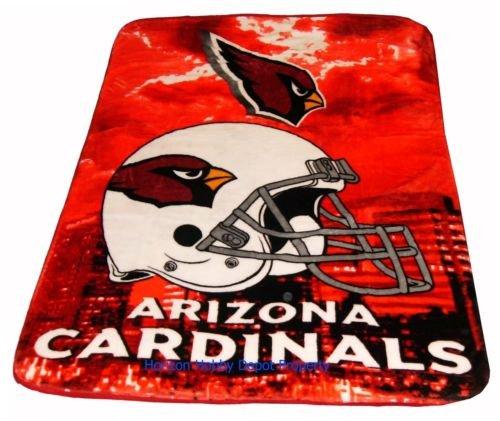 New NFL Arizona Cardinals Plush Mink Blanket Twin - Full