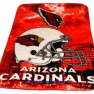 New NFL Arizona Cardinals Plush Mink Blanket Twin - Full