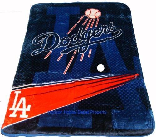 New Baseball Los Angeles Dodgers Plush Mink Blanket Twin - Full