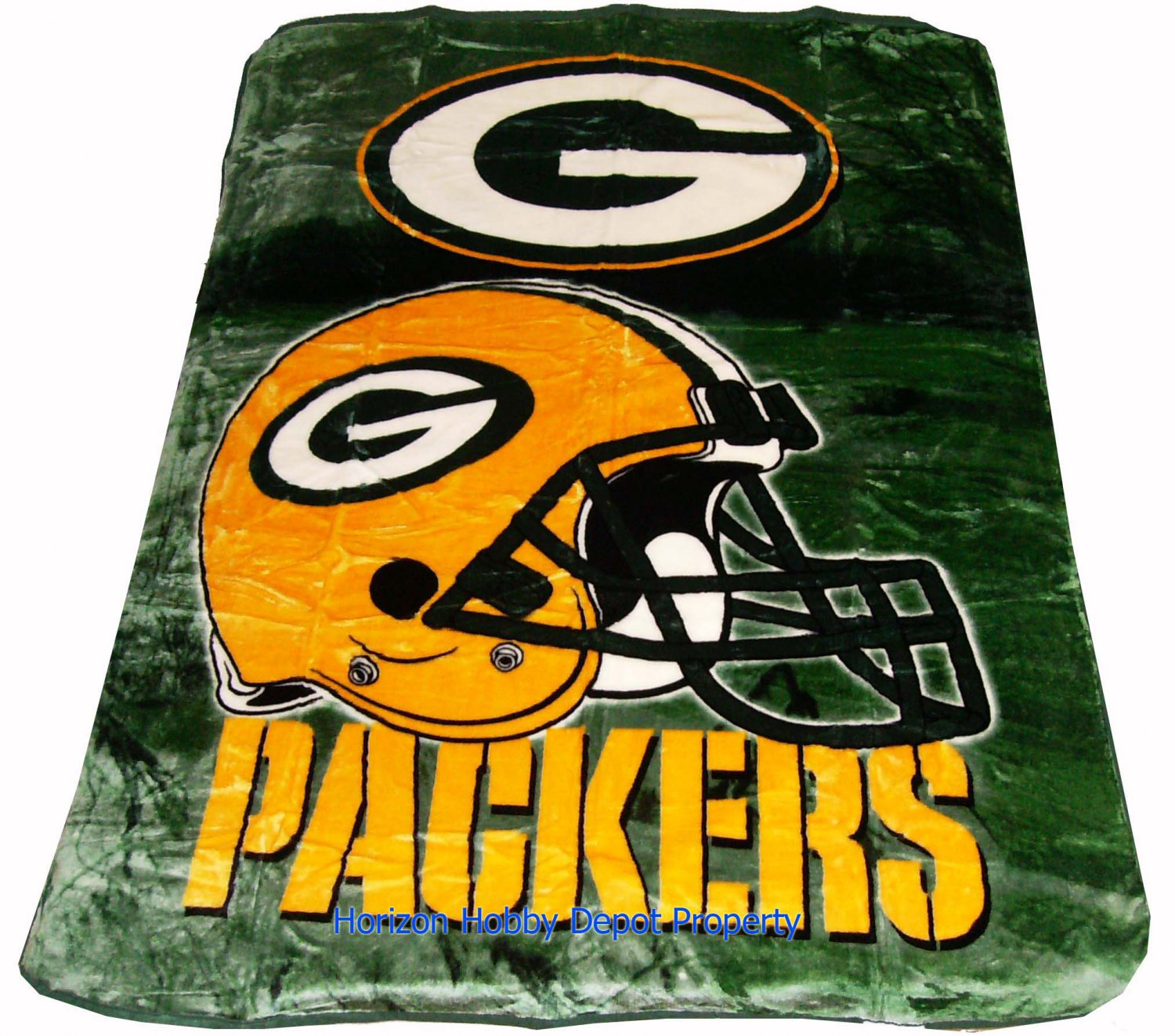 New NFL Green Bay Packers Plush Mink Blanket Twin - Full