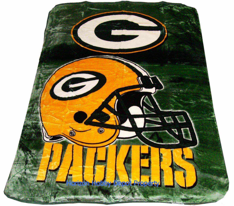 New NFL Green Bay Packers Plush Mink Blanket Twin - Full