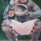 RAUL CASANOVA WORK ART OIL PORTRAIT PONCE PUERTO RICO