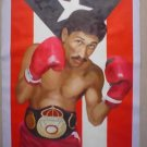 SAMMY SERRANO ART WORK OIL PORTRAIT PUERTO RICO