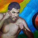 MANNY SIACA ART WORK OIL PORTRAIT PUERTO RICO