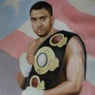 JOHN RUIZ  ART WORK OIL PORTRAIT PUERTO RICO