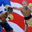 EDWIN ALGARIN ART WORK OIL PORTRAIT PUERTO RICO MIAMI