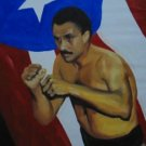 EDWIN ROSARIO ART WORK OIL PORTRAIT PUERTO RICO