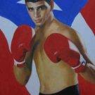 CARLOS VALCALCER ART WORK OIL PORTRAIT PUERTO RICO