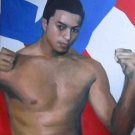 HECTOR CAMACHO JR. ART WORK OIL PORTRAIT PUERTO RICO