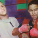HECTOR CAMACHO ART WORK OIL PORTRAIT PUERTO RICO MIAMI