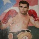 ALEX SANCHEZ ART WORK OIL PORTRAIT PUERTO RICO MIAMI