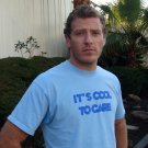 it's cool to care shirt (organic cotton) - adult large