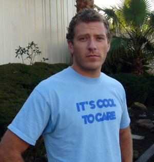 it's cool to care shirt (organic cotton) - adult medium