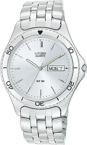 Citizen AJ0730-55A 100 Meter Date Bracelets Men's