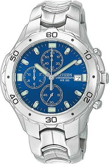 Citizen AN0950-53L Chronograph 100m, Date Bracelets Chrono Men's