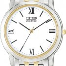 Citizen AR0014-52A Stiletto Two Tone White Dial Men's