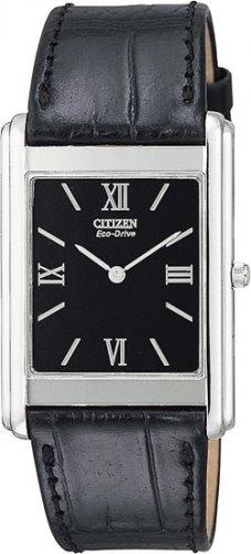 Citizen AR1000-01E Stiletto Strap Black Dial Men's