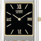 Citizen AR1004-51E Two Tone Stiletto Black Dial Men's