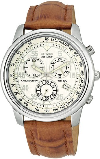 Citizen AT0120-37A Eco-Drive Chronograph Strap Men's