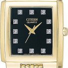 Citizen BA4042-59G Dress Bracelet Diamond Set Dial Men's