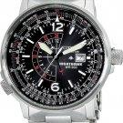Citizen BJ7000-52E Eco-Drive NightHawk Black Dial Men's