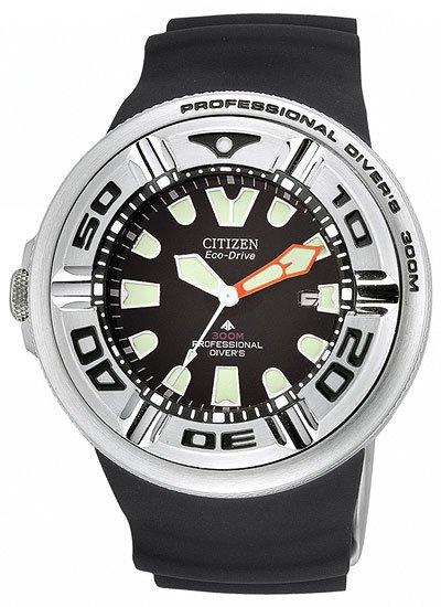 Citizen BJ8050-08E Eco-Drive Profesional Diver 300M Strap Men's