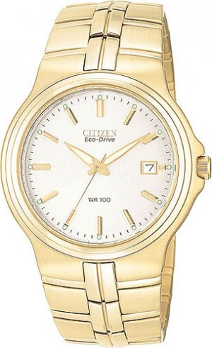 Citizen BL4032-50A Eco-Drive Stainless Gold Tone Men's