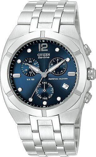 Citizen BL5150-58L Eco Drive Chronograph Perpetual Calender Men's