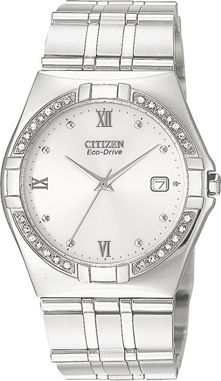 Citizen BM0720-52A Elektra Eco-Drive With Diamonds Men's