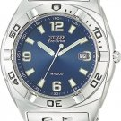 Citizen BM0950-52L Eco-Drive Stainless Steel Professional Diver Blue Dial Men's