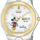 Citizen BM8084-58C Disney Eco-Drive Two Tone White Dial Men's