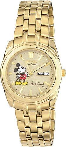 Citizen BM8222-56Q Disney Eco-Drive Gold Tone Men's