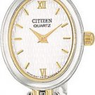 Citizen EK5404-56A Bracelet Two Tone White Dial Ladies
