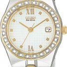 Citizen EW0484-59A Diamond Riva White Dial Ladies