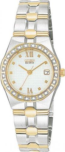 Citizen EW0484-59A Diamond Riva White Dial Ladies