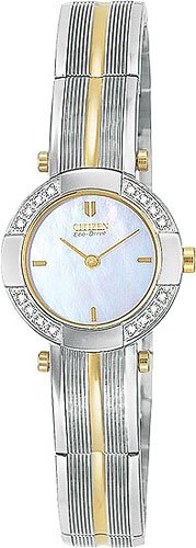 Citizen EW8374-53D Capri 16 Diamonds Two Tone Ladies