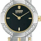 Citizen EW8374-53E Capri 16 Diamond Two Tone Ladies