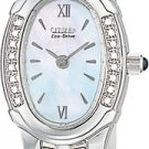 Citizen EW8490-52D Silhouette Diamond Stainless Steel Mother of Pearl Ladies