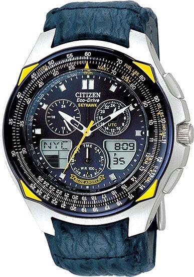Citizen JR3080-01L Skyhawk Blue Angels Flight Chronograph Strap Men's