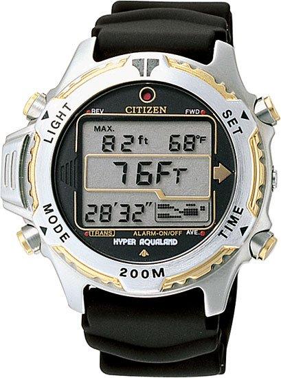 Citizen MA9024-24E Promaster Hyper Aqualand LCD Aqua Men's