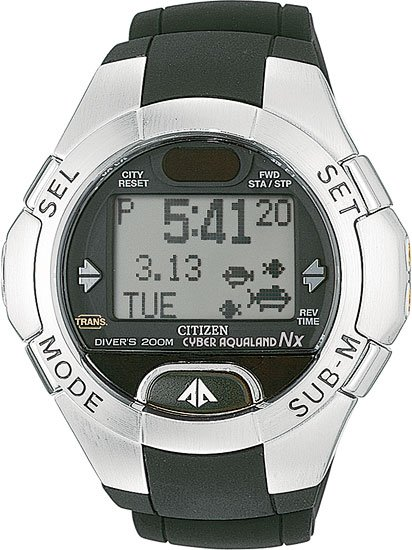 Citizen MG1010-08E Cyber Aqualand NX Men's