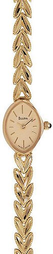 Bulova 95T22 14kt Gold Dress Watch Ladies