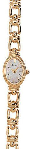 Bulova 95T24 14k Gold Ladies