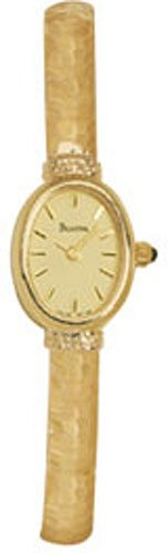 Bulova 95T28 14k Gold Bracelet Watch Ladies