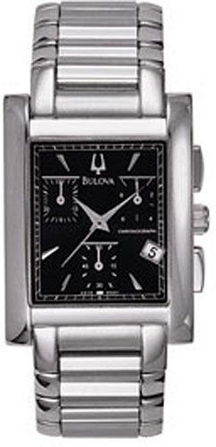 Bulova 96B91 Chronograph Stainless Men's