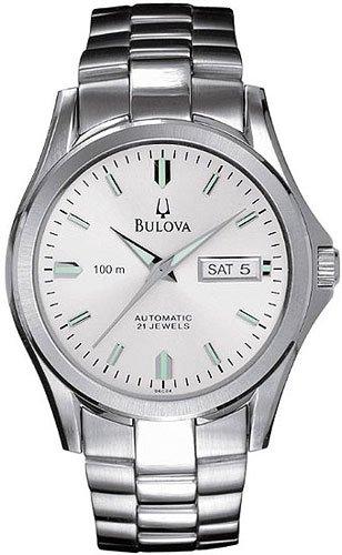Bulova 96C24 Automatic Silver Dial Men's